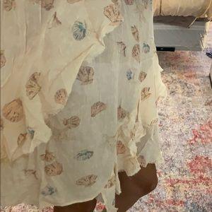 Free People Dresses - Free People Ruffle Seashell Dress